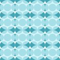 Seamless pattern with blue circles. Abstraction of dark and light blue circles
