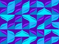 Seamless pattern from blue color tiles background Royalty Free Stock Photo