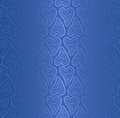 Seamless pattern blue silk fabric wallpaper Royalty Free Stock Image