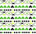 Seamless pattern in boho style