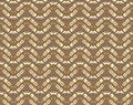 Seamless pattern with boomerangs Royalty Free Stock Photo