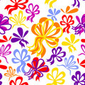 Seamless pattern with bows Royalty Free Stock Photos