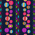 Seamless pattern with bright abstract shapes for textiles interior design for book design website background Royalty Free Stock Images