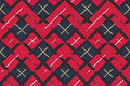 Seamless pattern check plaid fabric texture