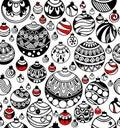 Seamless Pattern Of Christmas ...