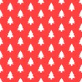 Seamless pattern with Christmas tree. Xmas texture for wallpaper or wrapping paper Royalty Free Stock Photo