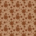 Seamless pattern with circle Royalty Free Stock Image