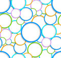 Seamless pattern with circles Stock Photo