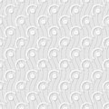 Seamless pattern of circles. Abstract background.
