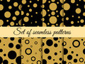 Seamless pattern with circles. Pattern with circles and dots. Stains. The pattern for wallpaper, tiles, fabrics and designs.