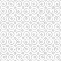 Seamless pattern of circles and squares. Abstract background.