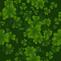 Seamless pattern with clover Royalty Free Stock Image