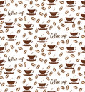 Seamless pattern Coffee CUP