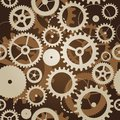 Seamless pattern with cogs and gears Royalty Free Stock Images