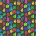 Seamless pattern with color scrawl for textiles interior design for book design website background Stock Photos