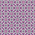 Seamless pattern with colorful mosaic