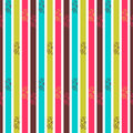 Seamless pattern with colorful stripes abstract Stock Image