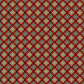 Seamless pattern on dark background of decorative  Stock Photos