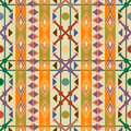 Seamless pattern decor in american indian style Royalty Free Stock Image