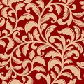 Seamless pattern with decorative flourishes for background design Stock Image