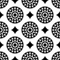 Seamless pattern decorative ornamental abstract Royalty Free Stock Image