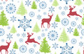 Seamless Pattern With Deer, Ch...