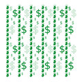 Seamless pattern with dollars dollar marks Royalty Free Stock Image