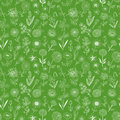 Seamless pattern with doodle sketch flowers. Can be used for wallpaper, pattern fills, textile, web page background