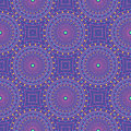 Seamless pattern with dotted circles. Vector repeating texture. Stylish background Royalty Free Stock Photo