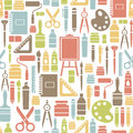 Seamless pattern drawing icons Stock Images