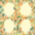 Seamless pattern Easter card on light background