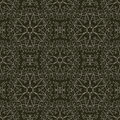 Seamless pattern with elegant swirls and flowers lace background Stock Photography