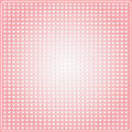 Seamless pattern in the embossed heart on pink background Stock Images