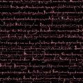 Seamless Pattern Of Emo Scribb...