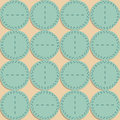 Seamless pattern. Fabric with circles