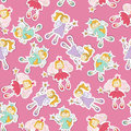 Seamless pattern with fairy Stock Images