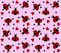 Seamless pattern for fashion industry manufacturing or wallpaper Royalty Free Stock Photos