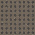 Seamless pattern of fingerprints, gray texture Royalty Free Stock Photos