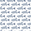 Seamless pattern: fish Royalty Free Stock Photos