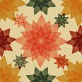 Seamless pattern with floral abstraction. Royalty Free Stock Photo