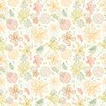 Seamless Pattern Floral Backgr...