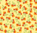 Seamless pattern with floral ornamen Stock Images