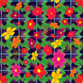 Seamless pattern flowers. Royalty Free Stock Photos