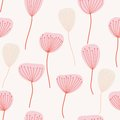 Seamless pattern. Flowers Royalty Free Stock Photo
