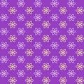 Seamless pattern. Fond purple and yellow colors.