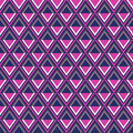 Seamless pattern geometric abstract background illustration Royalty Free Stock Photos