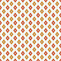 Seamless pattern with geometric figures. Repeated diamond ornamental abstract background. Rhombuses motif.