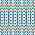 Seamless pattern with geometric figures. Repeated diamond ornamental background.
