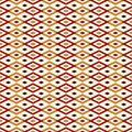 Seamless pattern with geometric figures. Repeated diamond ornamental background. Rhombuses and lines motif.