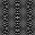 Seamless pattern with geometric texture. Royalty Free Stock Image